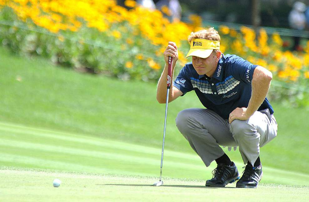 Golf roundup: Former Navy officer Billy Hurley leads PGA Tour's Greenbrier Classic _lowres