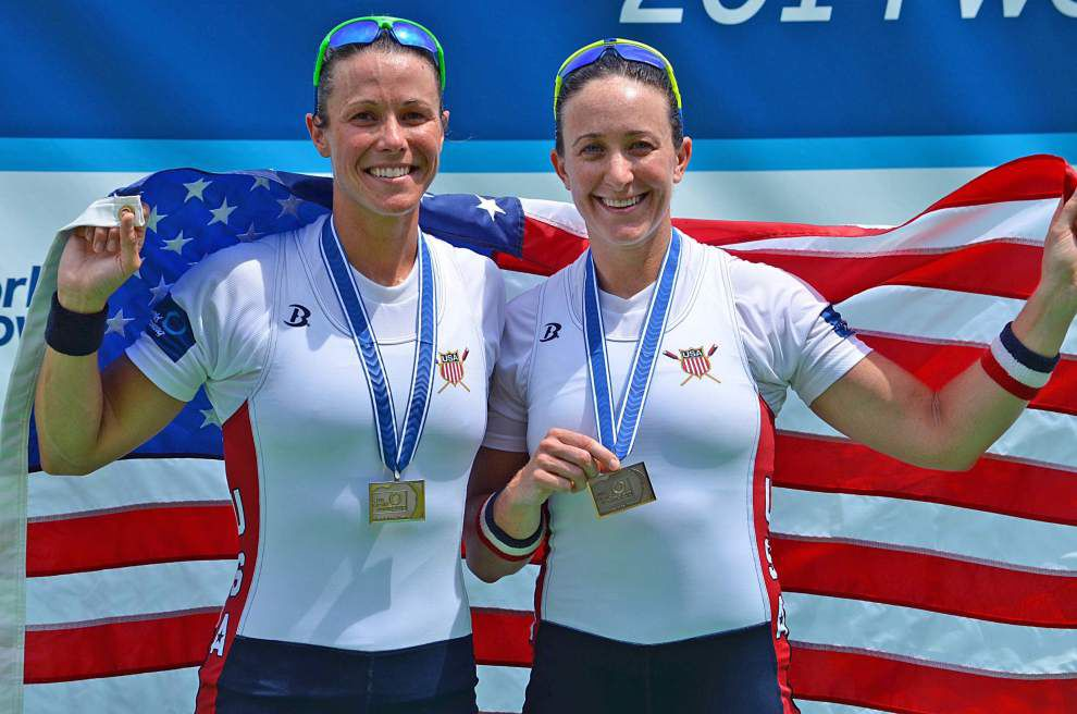 Former Episcopal athlete Meghan O'Leary eyes spot on U.S. Olympic rowing team _lowres