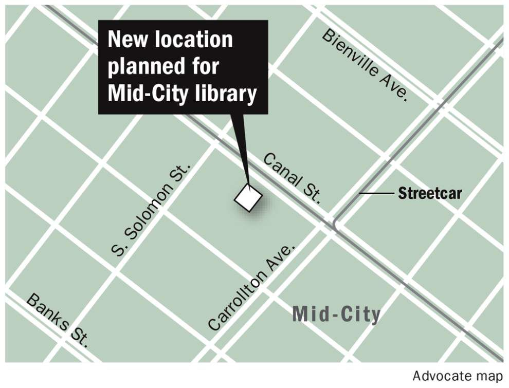 New Orleans' Mid-City library plans move to Canal Street building this fall _lowres