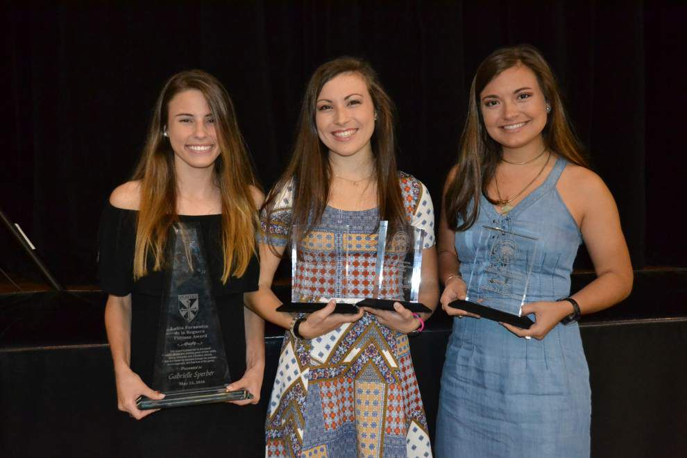 St. Mary's Dominican High School honors student athletes _lowres
