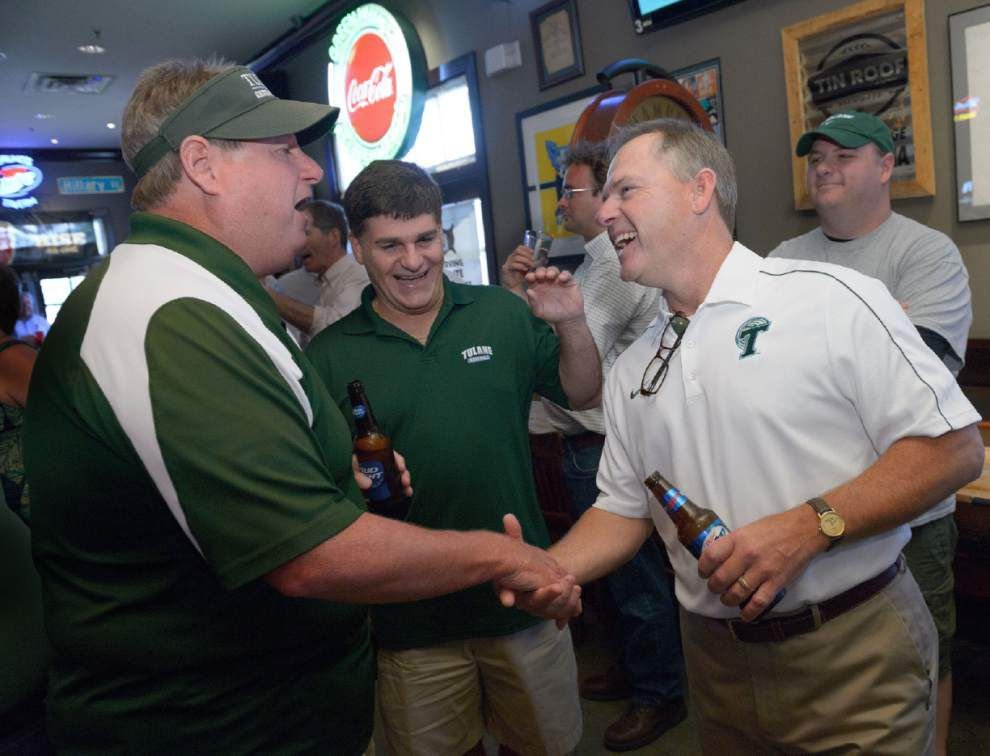 New baseball coach David Pierce jumped at the chance to come to Tulane _lowres