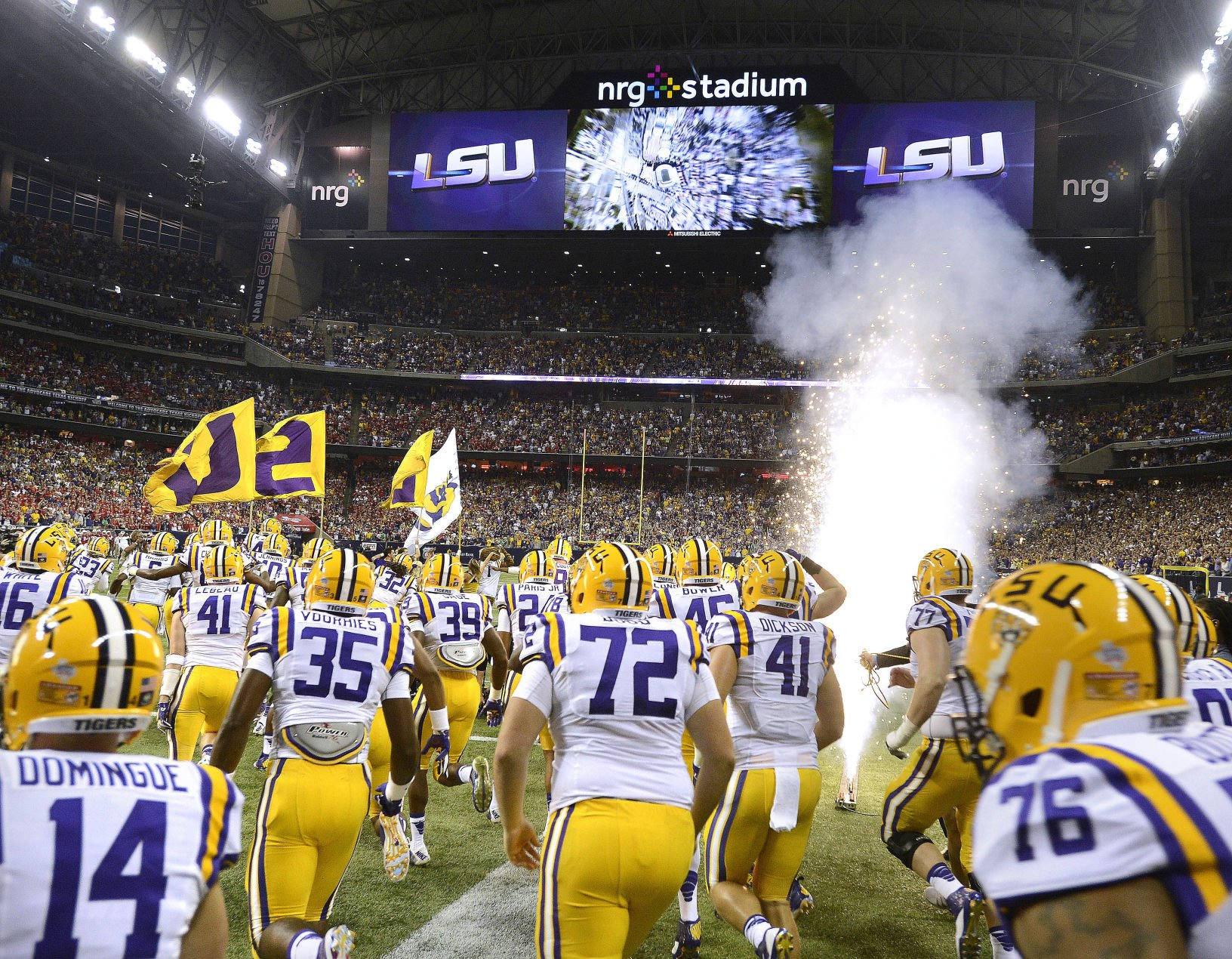 Superdome officials offer up venue for Houston LSU, BYU game