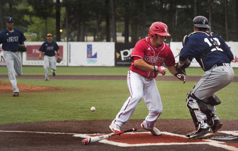 Ragin' Cajuns get it going late, top Jackson State 7-2 to sweep the series _lowres