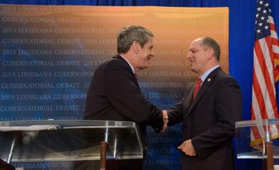 Let's talk about governor's race issues: David Vitter, John Bel Edwards agree on more than you might think _lowres