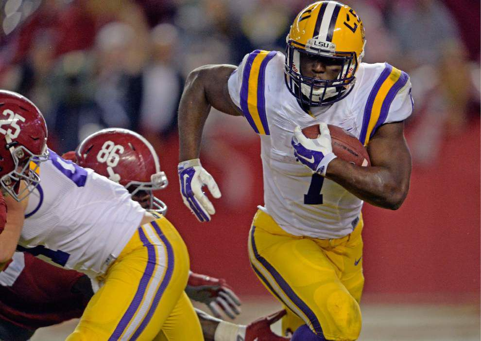 LSU running back Leonard Fournette named consensus All-American _lowres