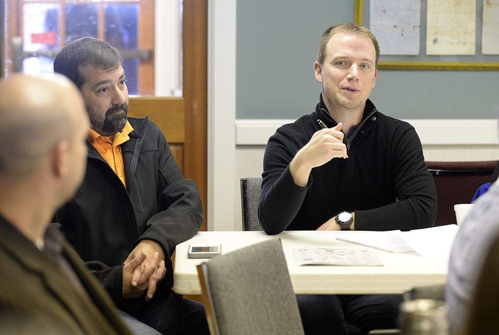 Youngsville business owners talk smart growth to guide city planning _lowres