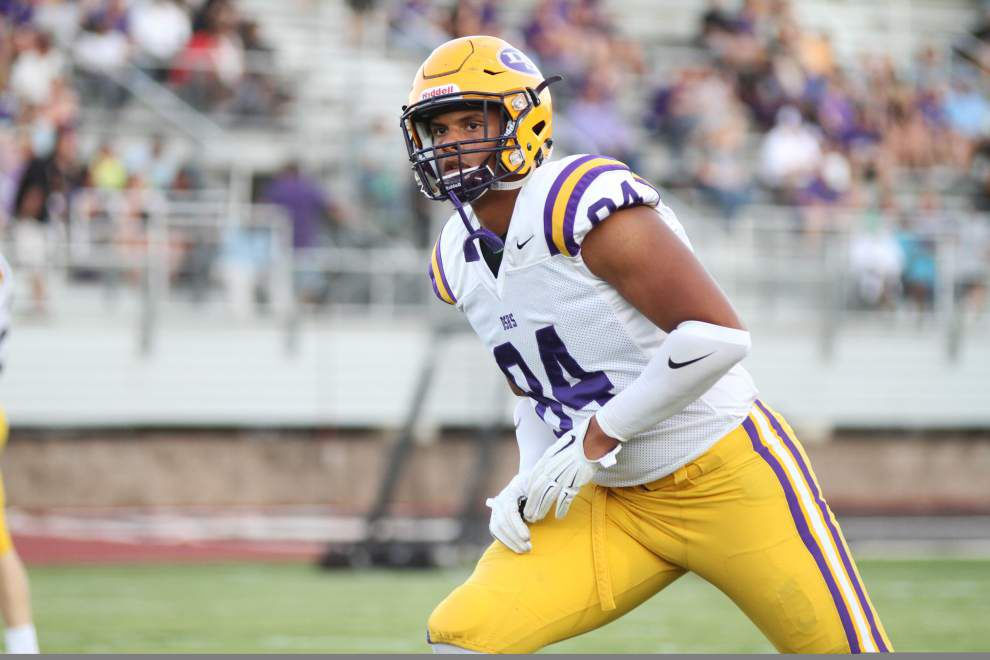 LSU's third-ranked signing class moves onto campus, and a local defensive end could get a crack at another position _lowres