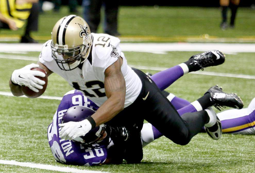 Report: Saints receiver Marques Colston purchases a share of the Philadelphia Soul in the AFL _lowres