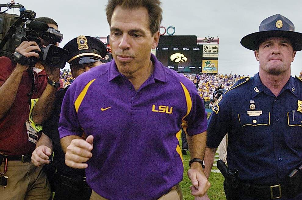 Transition game: LSU's move from Saban to Miles _lowres