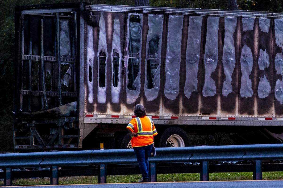 CORRECTION Fatal Crash Interstate Fire Florida