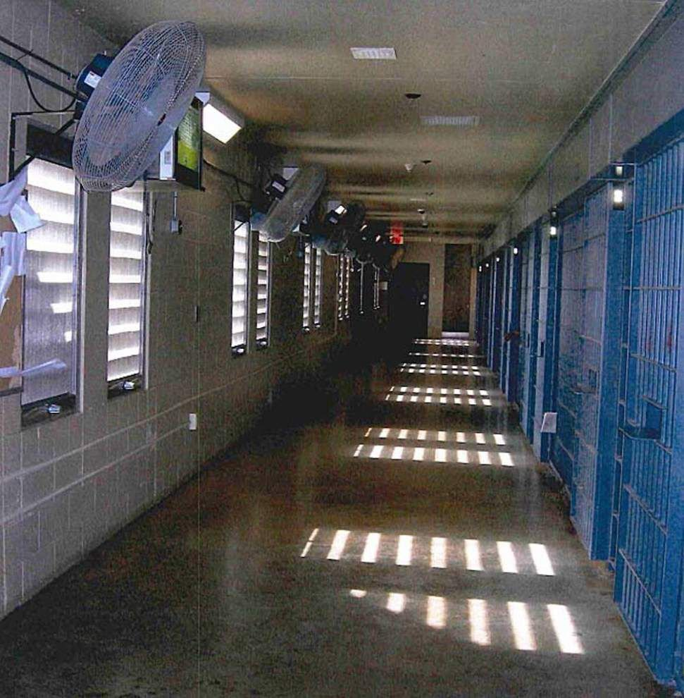 Ice, cold showers and now heat sensors as Louisiana addresses steamy conditions on death row _lowres