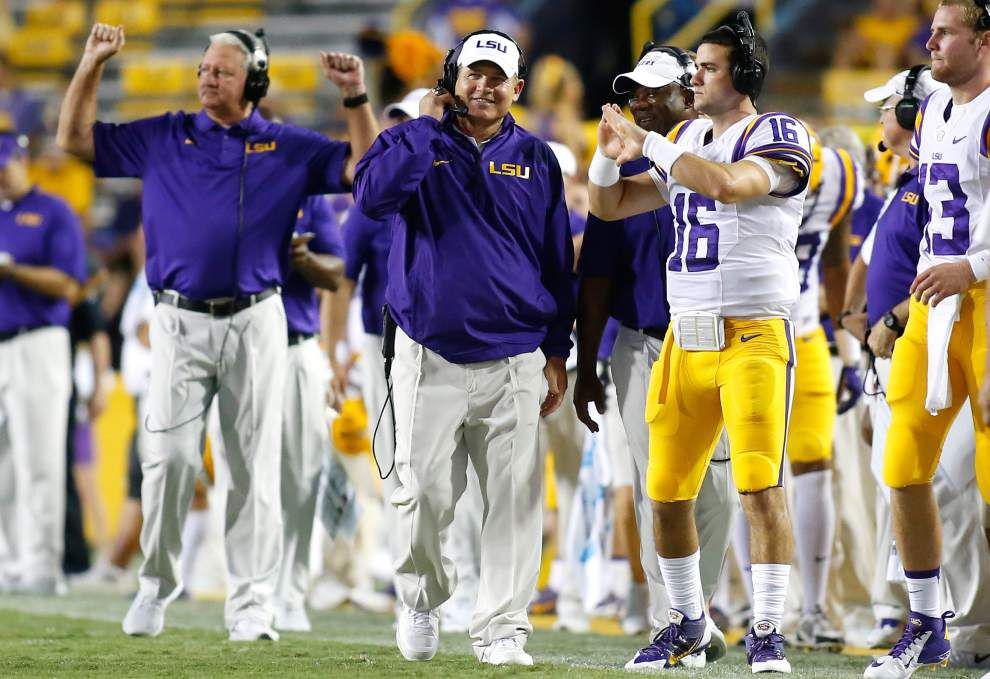 Video: LSU coach Les Miles says Mississippi State should be a ranked team _lowres