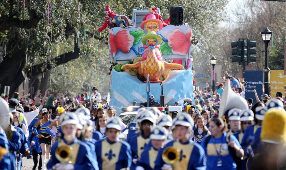 Arthur Hardy: 10 — count 'em, 10 — parades to roll on Saturday _lowres