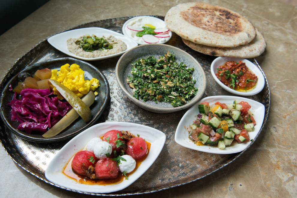 Behind an Israeli restaurant's runaway success, a mix of old and new in sync with the times _lowres
