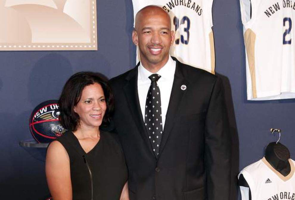 Video: Watch ex-Pelicans coach Monty Williams' emotional speech at his wife Ingrid's memorial service _lowres