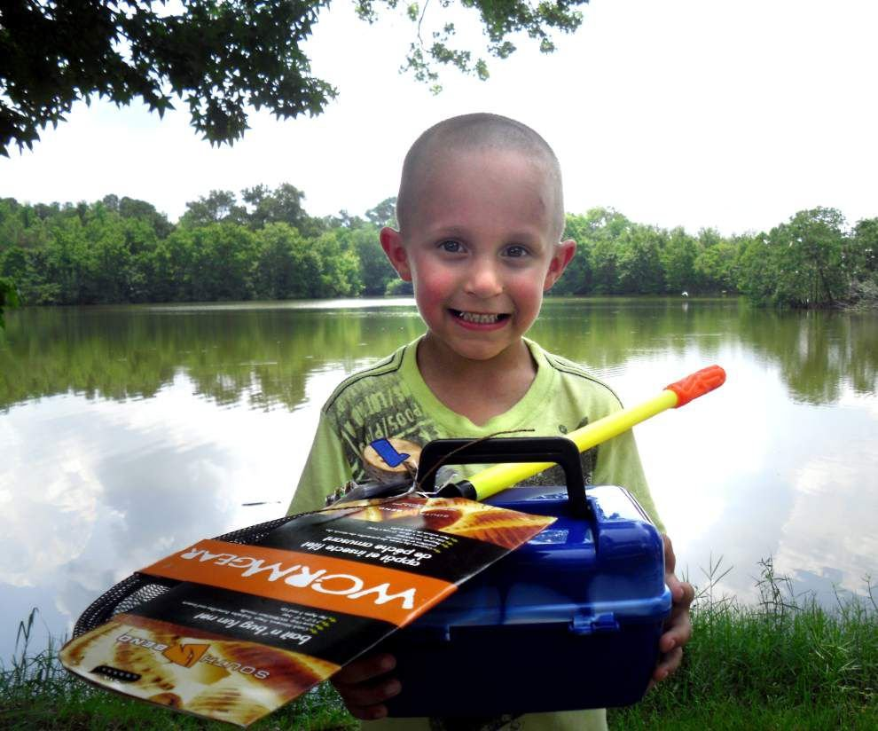 Rec & Leisure: Nearly 200 kids compete at Bogue Chitto fishing event _lowres