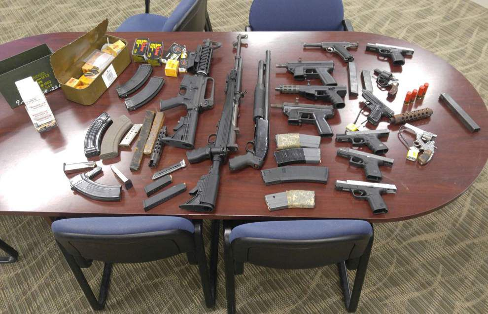 Baton Rouge Police: 13-year-old detained in robberies leads police to stash of guns _lowres