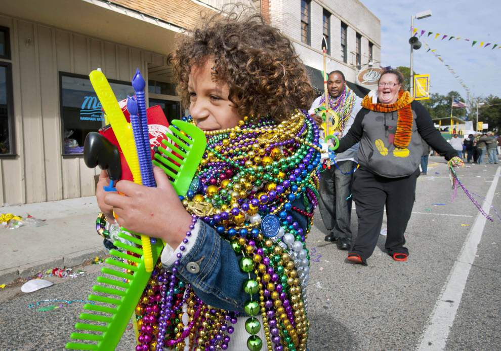 Photos: Two parades welcome Mardi Gras to New Roads _lowres