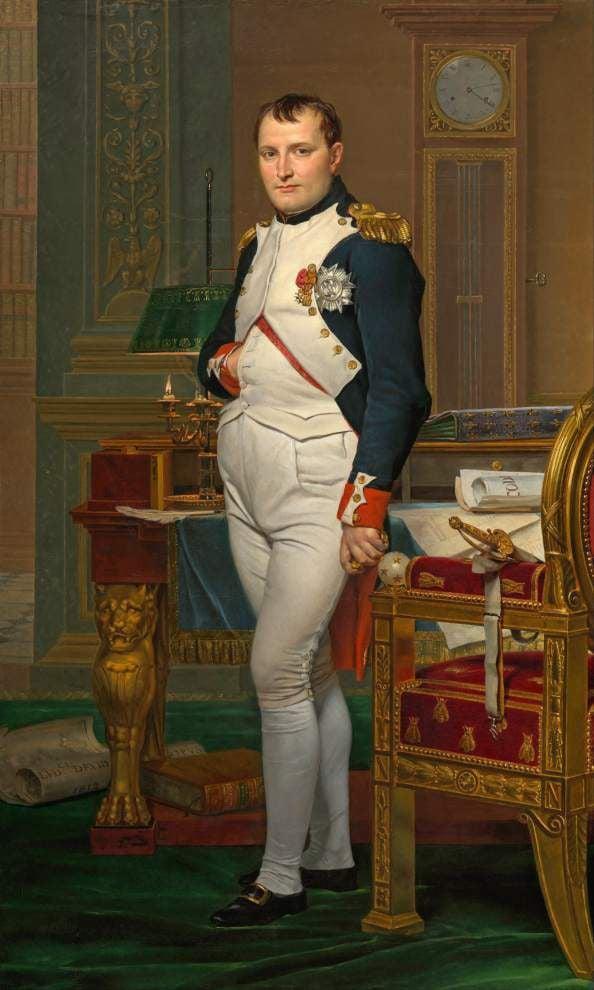 Napoleon's death mask makes historic journey to Baton Rouge _lowres