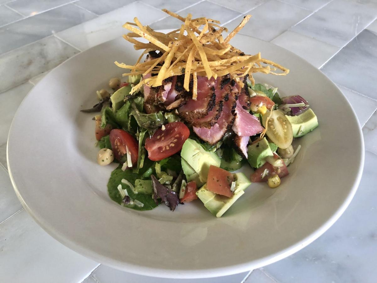 Doily Ahi Tuna Salad