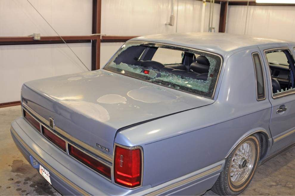 Police release photos of movie theater gunman's car in hopes of retracing his steps in south Louisiana _lowres