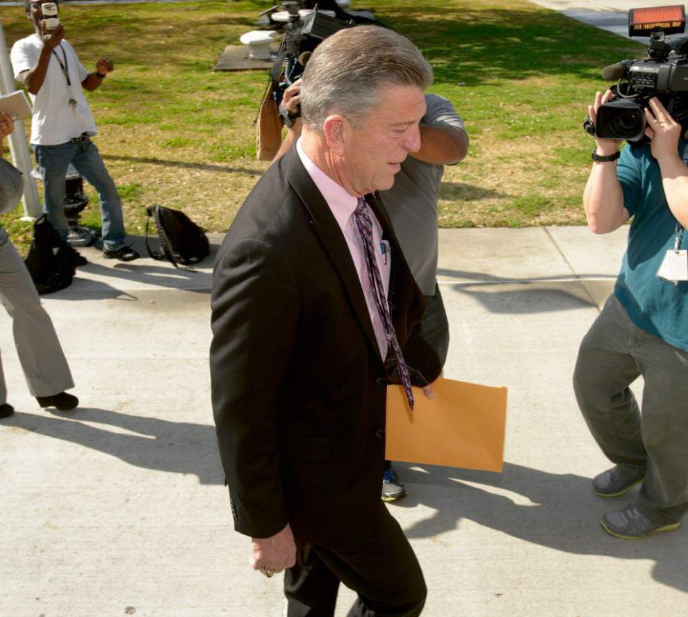 WWL-TV: Grand jury probes St. Bernard Parish President David Peralta's appointee's overlapping parish jobs _lowres