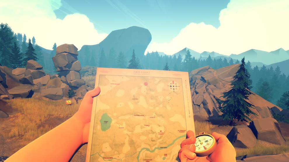 Review: Indie games 'Firewatch,' 'Unravel' fall short _lowres