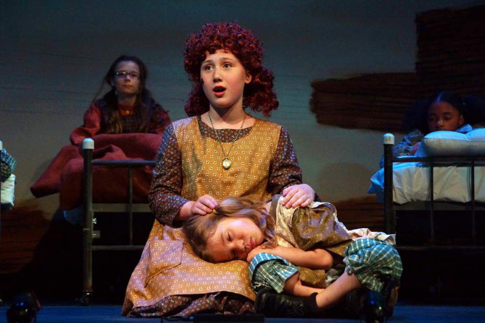 Review: 'Annie' stays in tune on strengths of lead, solid cast work _lowres