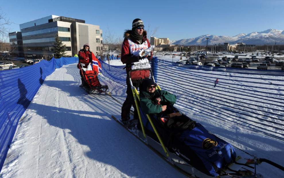 Iditarod mushers ready for start of famous race _lowres