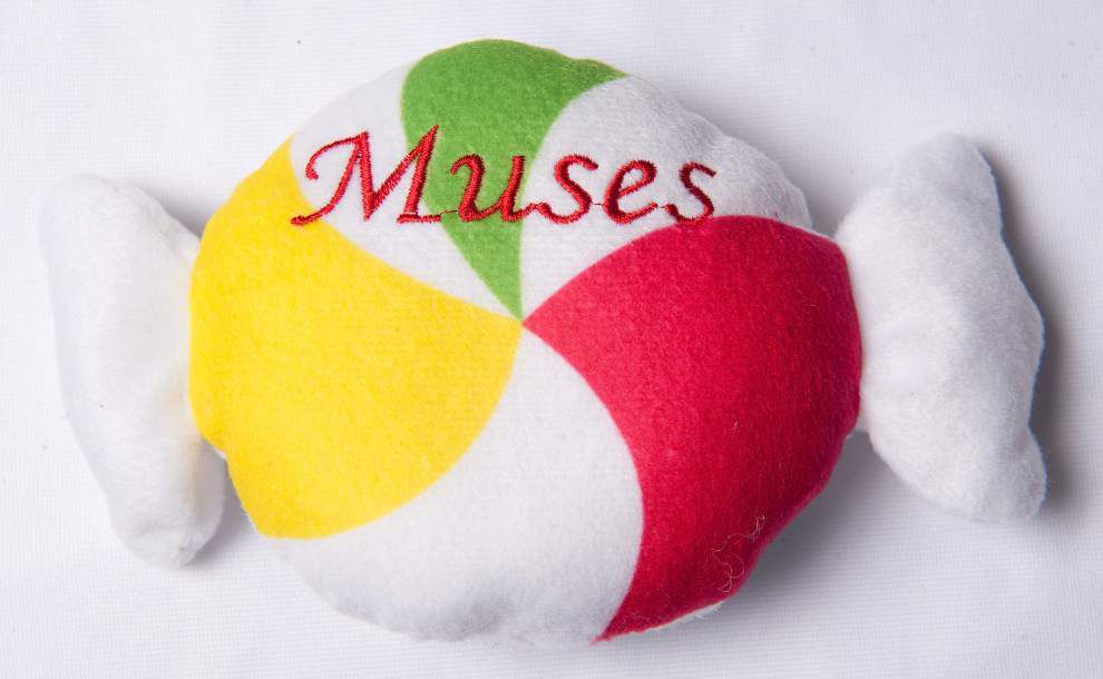 Throw me something ... soft: Plush toys a growing trend for Mardi Gras; see what else you'll be catching in 2016 _lowres