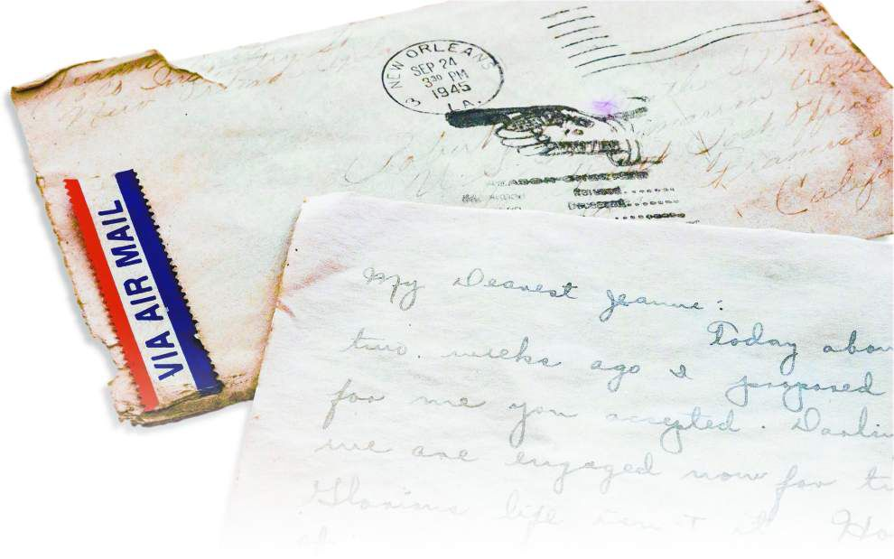 Across years and miles, wartime letters speak to couple's family _lowres