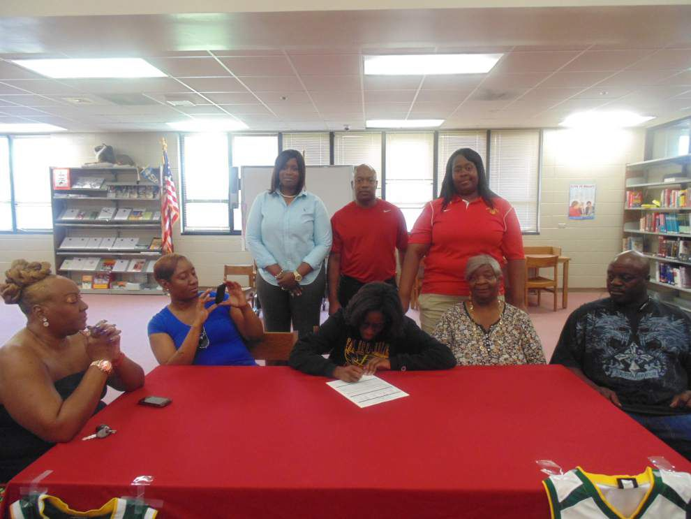 Let's celebrate: High school athletes from south Louisiana signed with colleges in the spring college signing period _lowres