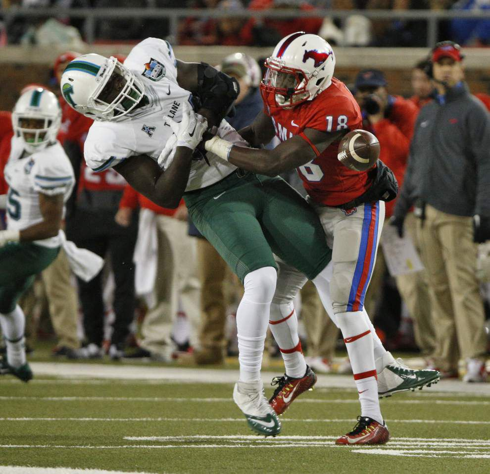 Tulane gets off to another ugly start in 49-21 loss at SMU _lowres