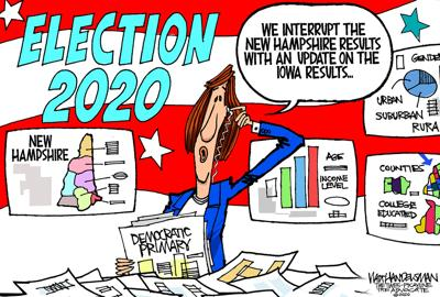 Walt Handelsman: 2020 Election Results