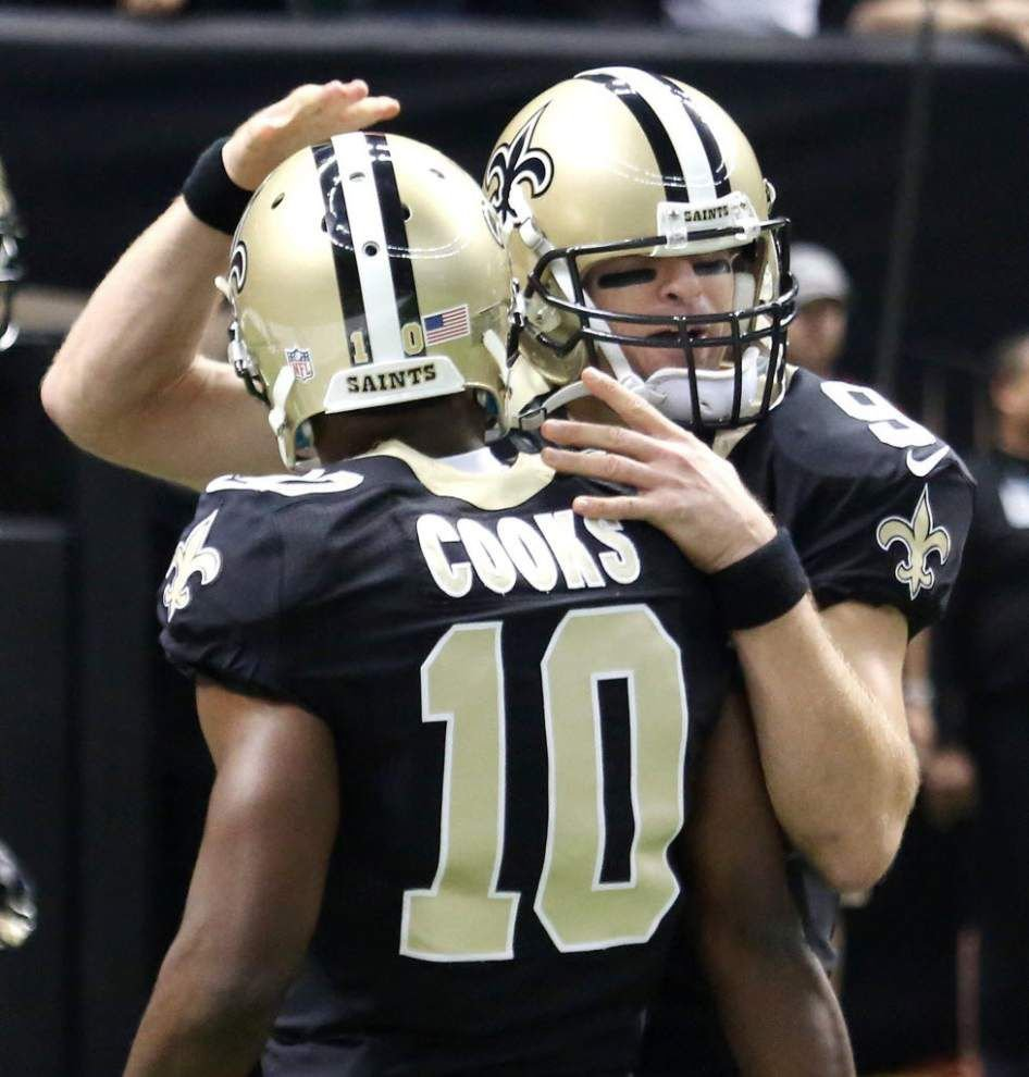 Drew Brees confident in the Saints, excited to get back to work with Brandin Cooks _lowres