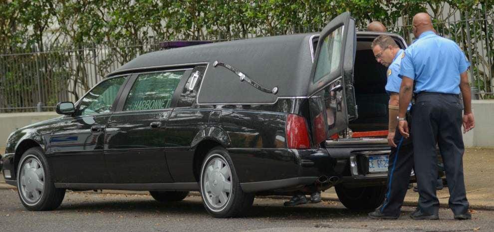 Nighttime burglar ransacks Treme funeral home, steals hearse _lowres
