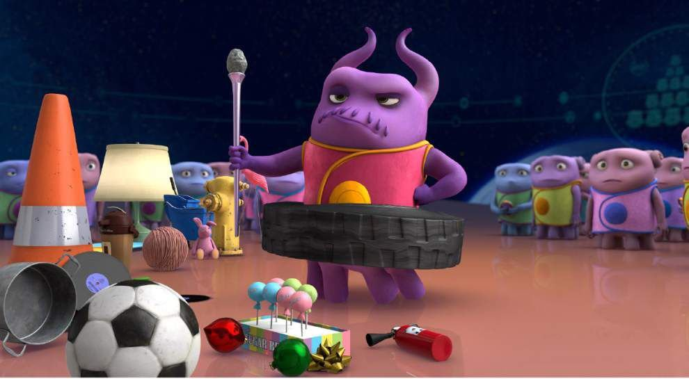 Review: Animated alien adventure 'Home' lands with a thud _lowres