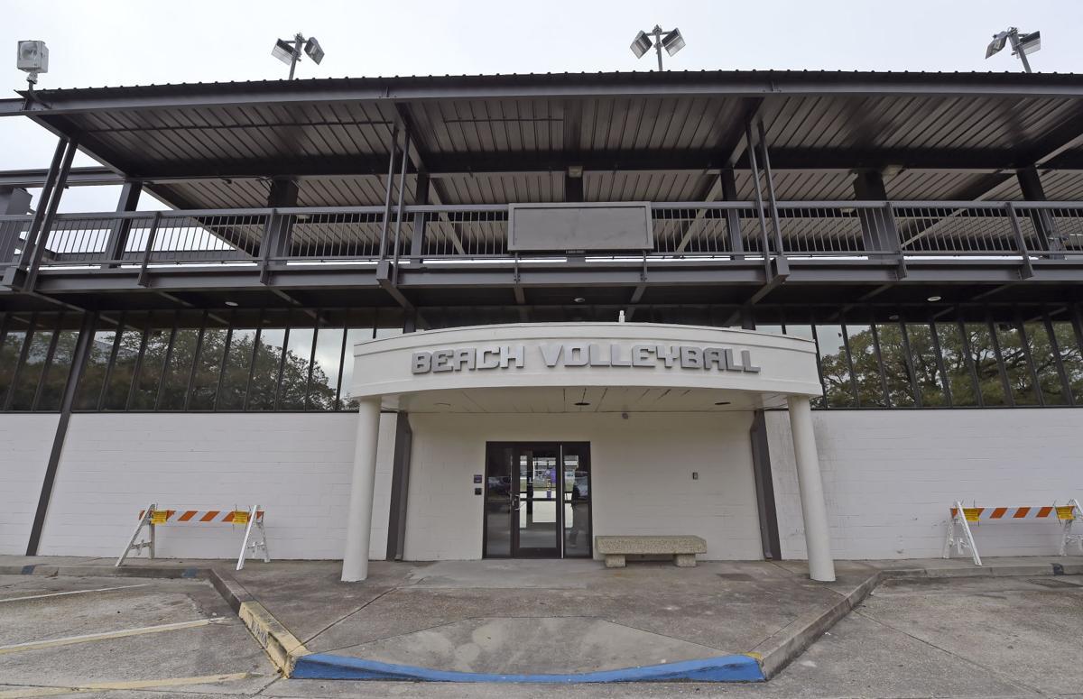 Photos New Lsu Beach Volleyball Stadium Is Unveiled Photos Theadvocate Com