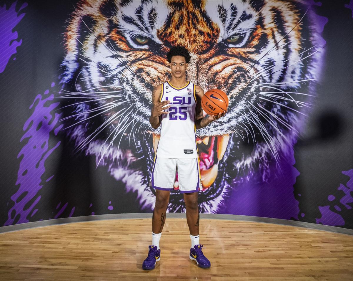 Shareef O'Neal at LSU