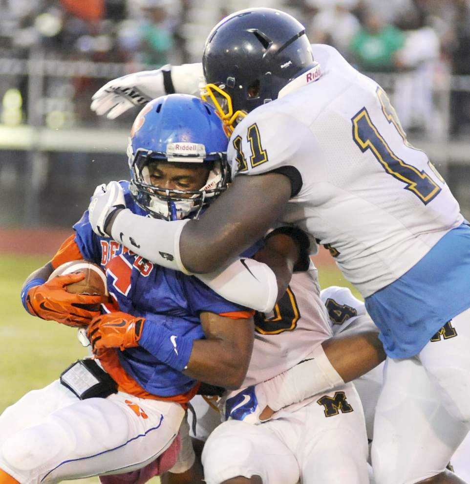 Photos: Football jamborees - Woodlawn, McKinley, Madison Prep, others battle it out Friday night _lowres