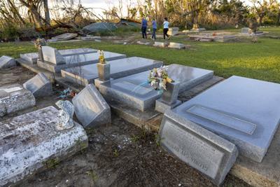 Missing caskets