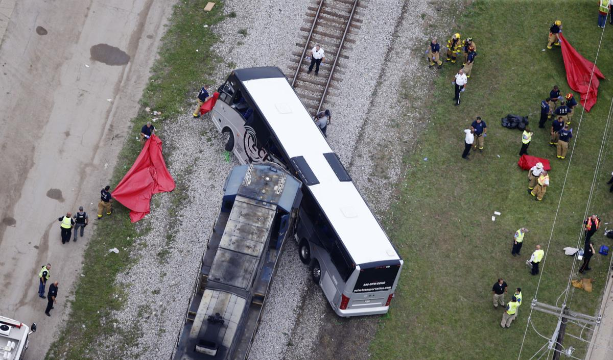 Witness Body Pieces Were Thrown Everywhere After Train Hit Bus