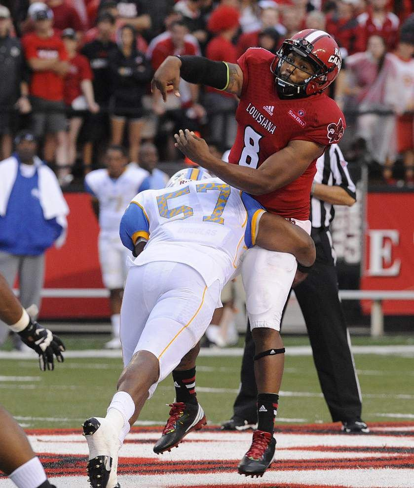 Cajuns report: Offensive line wants to protect quarterback better _lowres