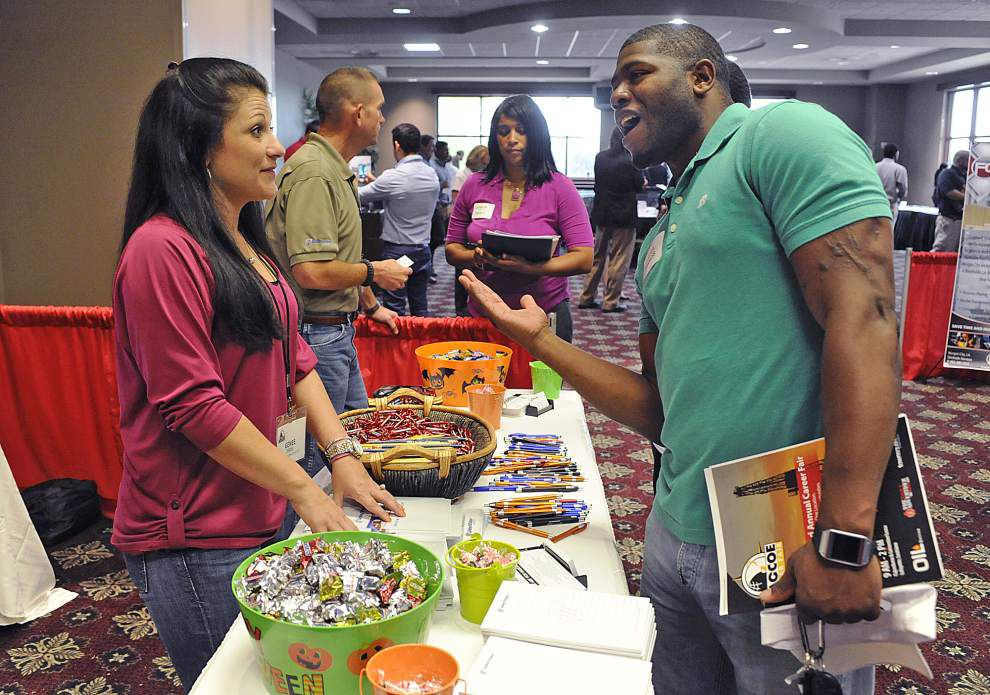 LAGCOE job fair in Lafayette draws hundreds seeking higher pay, leadership positions _lowres