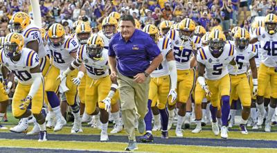 LSU cracks top 5 in ESPN's initial football power index rankings for