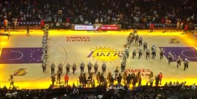 Human Jukebox at Lakers