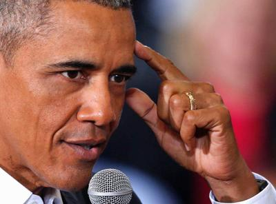 Single-lane interstate? Obama gets peek at what many Baton Rouge drivers see daily, vows to help _lowres