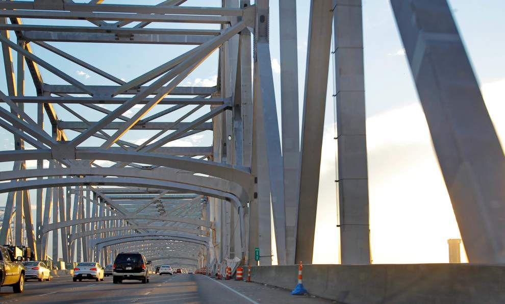 $2.2M project to demolish Crescent City Connection toll booths set to begin; impact on traffic uncertain _lowres