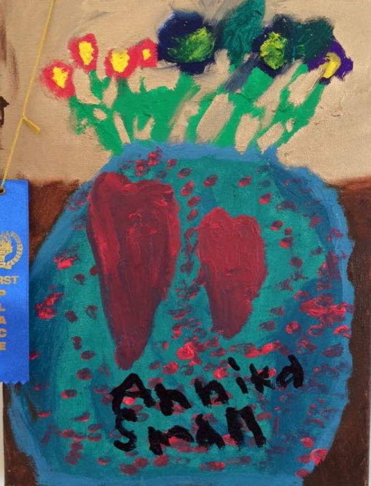 Annual church art show exhibits children's works _lowres