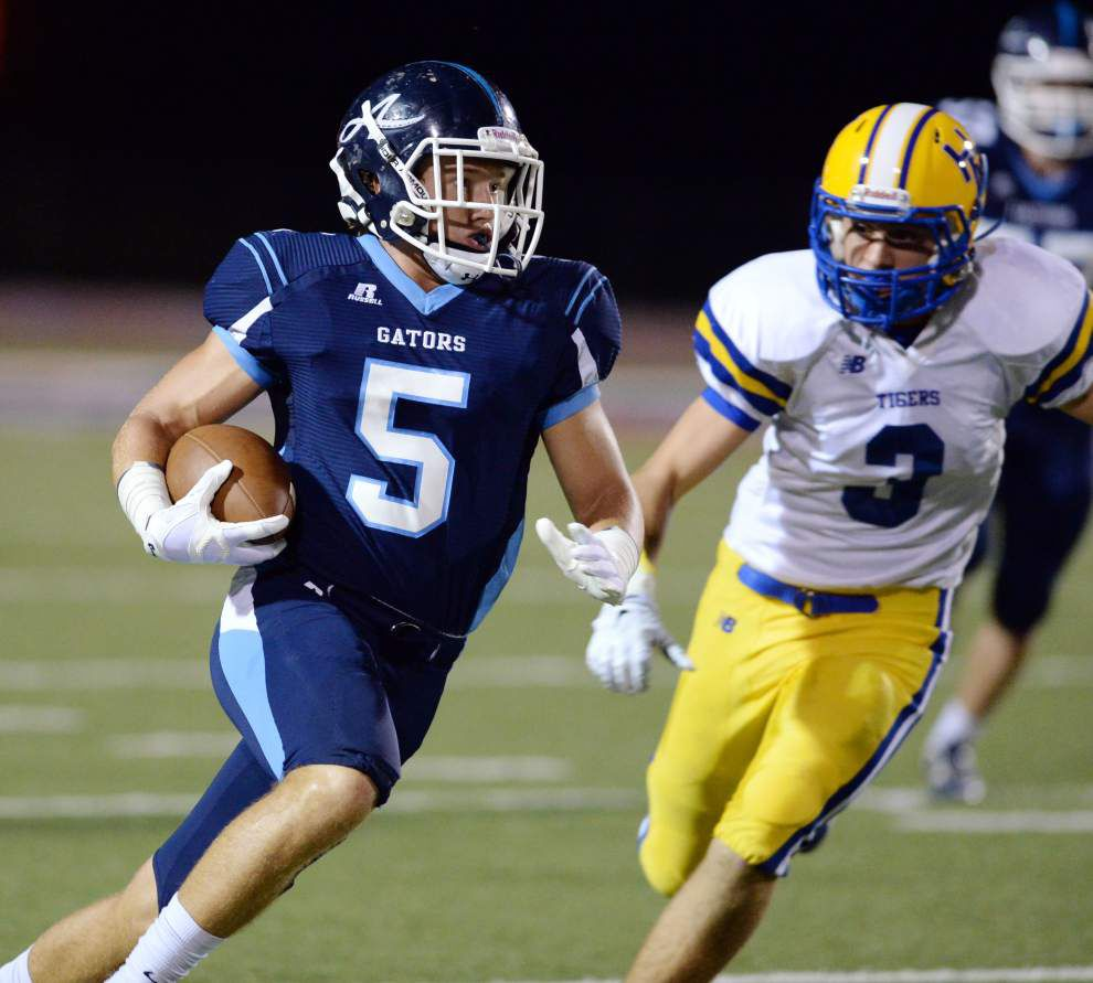 St. Thomas More and Notre Dame top The Acadiana Advocate's prep football rankings _lowres